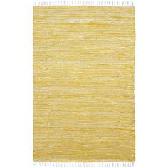 Yellow Reversible 8x10-foot Chenille Flat Weave Rug   Overstock.com Shopping - The Best Deals on 7x9 - 10x14 Rugs