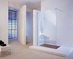 Lambini Designs Basic douchewand - glans chroom - 200cm (H) - 80cm (B) aanbiedingen – Sanitairkamer.nl | Sanitairkamer.nl