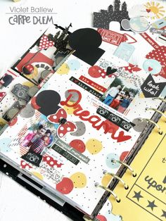 Carpe Diem planner and the Say Cheese III collection from creative team member Violet Ballew