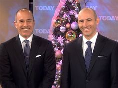 All anchors on the Today Show have twins