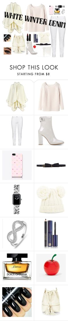 Snow White by dinyvia on Polyvore featuring beauty, Estée Lauder, Dolce&Gabbana, Tony Moly, BCBGMAXAZRIA, Lanvin, Chanel, Rebecca Taylor, Steilmann and Gianvito Rossi