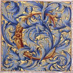 C letter (p.127) -- «Graduale et antiphonale ad usum S.Ludovici domus regiae Versaliensis» 1684-1686 [BNF, Ms Latin 8828 - ark:/12148/btv1b550073187]