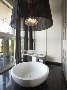 Le Méridien Istanbul Etiler—Presidential Suite Bathroom - Vertical by LeMeridien Hotels and Resorts, via Flickr