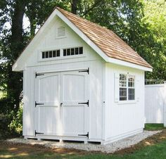 Outdoor storage & garden shed inspiration from boxwoodavenue.com | via Kolter Farms
