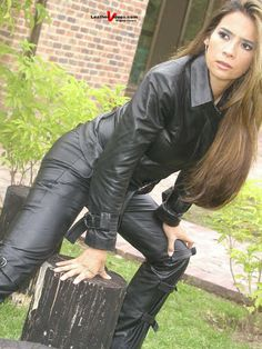 Cute Leather Lady