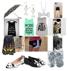 """""""Dog lover"""" by jera-lee on Polyvore featuring Casetify, Reclaimed Vintage, Allurez, Free Press, M&Co, Kate Spade and Marc by Marc Jacobs"""