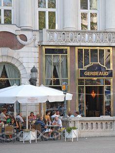 Cafe Gerbeaud, Budapest. HU.