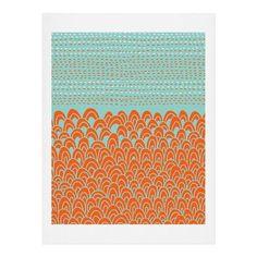 Budi Kwan The Infinite Tidal Light Blue Duvet Cover | DENY Designs Home Accessories