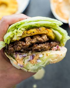 Bring Hawaii into your kitchen with these Smashed Aloha Burgers Easy, delicious, and bursting with tropical flavours! and Paleo compliant! is part of Aloha burger - Beef Recipes, Whole Food Recipes, Cooking Recipes, Healthy Recipes, Paleo Food, Cooking Fish, Primal Recipes, Healthy Gourmet, Easy Whole 30 Recipes