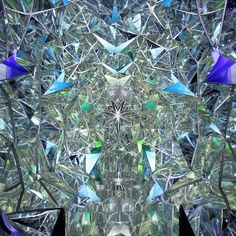 Immersive Kaleidoscope Tunnel Built Inside a Shipping Container - My Modern Met / Sacred Geometry <3