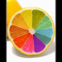 food coloring in a lemon, cool craft for kids