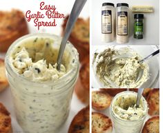 Easy Garlic Butter Spread FB