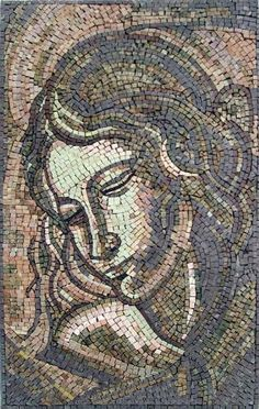 "18x30"" Woman Marble Mosaic Stone Tile Wall Decor by Mozaico. $325.00. Mosaics have endless uses and infinite possibilities! They can be used indoors or outdoors, be part of your kitchen, decorate your bathroom and the bottom of your pools, cover walls and ceilings, or serve as frames for mirrors and paintings."