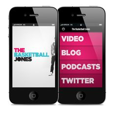 TBJ iPhone App by Brian Waddington, via Behance