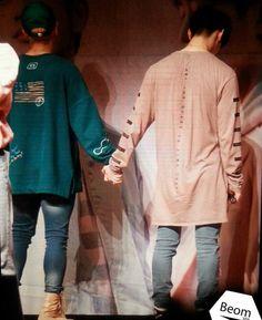 Jackbum holding hands