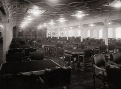 Main Dining Room of the Titanic