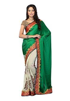 #Fabdeal #Georgotte #Green #Embroidered #Saree #fabdeal http://www.amazon.in/dp/B00LUPJG0O/ref=cm_sw_r_pi_dp_-I7Pub1KEPAGW