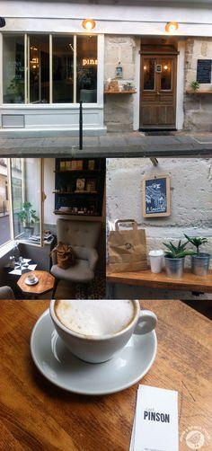 Cafe Pinson in Paris. vegan and gluten free, plus beautiful surroundings = my idea of heaven!