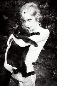 artnet Galleries: Meow II by Ellen von Unwerth from Staley-Wise Gallery