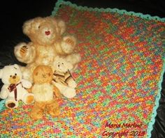 Crochet skip one two baby blanket afghan (Photos) - Philadelphia Arts and Crafts | Examiner.com