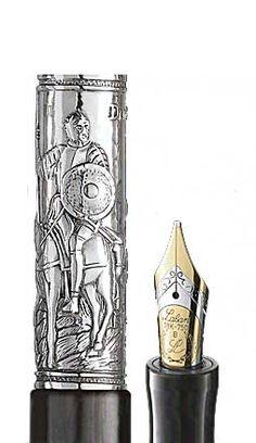 Don Quijote Splash fountain pen