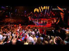 Amandine Bourgeois en Eurovision.