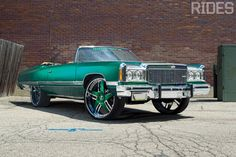 Donk, Hi-Risers and More - Page 13 of 17 - Rides Magazine Chevrolet Caprice, Chevy Caprice Classic, Chevy Chevrolet, Donk Cars, Trick Riding, Rims For Cars, Old School Cars, Hot Rides, Chevy Impala
