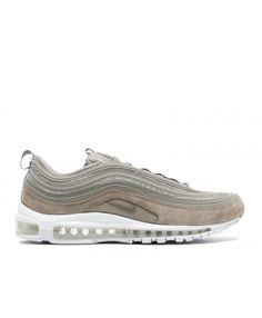 Details about Nike Air Max 97 Premium Suede QS Grey Cobblestone White 921826 002