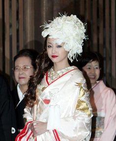 New style of White Wata boushi