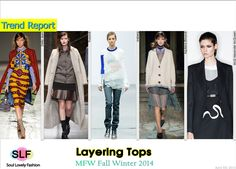 Layering Tops #Fashion Trend for Fall Winter 2014 #Trends #Fall2014 #FW2014