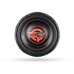 """Q5000/12D 12 DVC Subwoofer / 5000 Watts  FEATURES 3"""", 4 Layer Aluminum 4 Ohm DVC Q-DENSITY Heavy Gauge Stamped Steel Basket High Temperature Voice Coil QEMT Aluminum Voice Coil Former High-Excursion Foam Surround Injection Molded PP Dust Cap Compressed Paper Cone Proprietary Full Round PVC Gasket Heavy Gauge Spring Terminal 250 oz Magnet"""