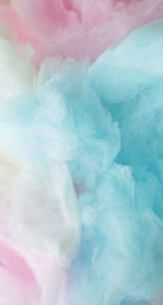 Cotton candy wallpaper