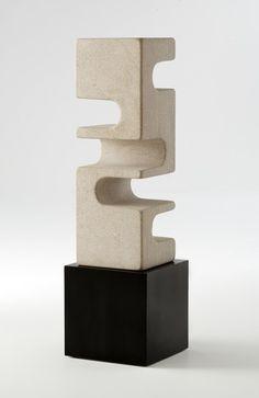 Sculpture by Cesare Arduini via Life on Sundays Concrete Sculpture, Concrete Art, Art Sculpture, Stone Sculpture, Abstract Sculpture, Geometric Sculpture, Contemporary Sculpture, Contemporary Artists, Art Concret