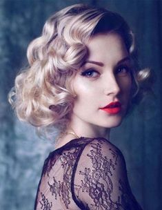 vintage curls hairstyles 2018 trends for women