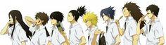English Naruto Konoha High School | akatsuki-club-konoha:High School Boys *^*