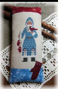 Prairie Schooler by Carolina stitcher, via Flickr