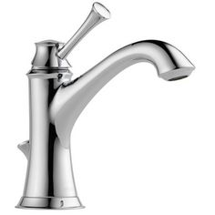 Brizo Single Lever Handle Pull-Out Kitchen Faucet in Polished Chrome | 63005LF-PC | at Ferguson.com