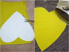 How to make your own iron-on applique for a tee or other project, using any fabric!