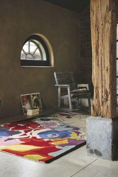 Brink & Campman Tapis en laine Estella Ballad achetez à bon prix en ligne Affordable Carpet, Bedroom Turquoise, Tapis Design, Red Rooms, Cheap Carpet Runners, Patterned Carpet, Grey Carpet, Hand Tufted Rugs, India