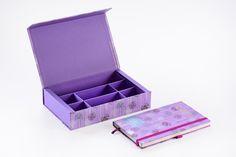 Linha Floral: lindas estampas e diversos itens de papelaria e caixas organizadoras!