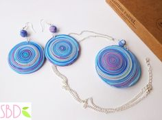 Gioielli fimo Spirale - ENG SUBS Fimo clay jewels Swirl
