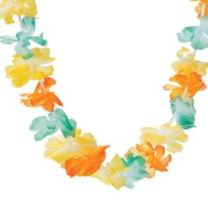 Hibiscus Wave Hanging Garland