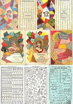"Quilt Papers: ""100 Crazy Patchwork Stitches"""
