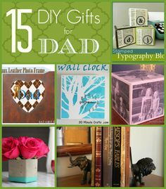 15 DIY Gift Ideas for Dad - Just Paint It Blog