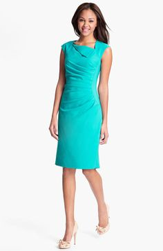 Adrianna Papell Ruched Sheath Dress available at #Nordstrom