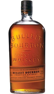 Bulleit bourbon: everyone loves bourbon, even though I don't, so I stock this one.  it's made from 30% rye and not as sweet as most other bourbons.