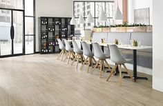 longboard looselay vinyl floor PEARL OAK KARNDEAN