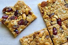 MΠΑΡΑ ΜΕ CRANBERRIES ΚΑΙ ΦΥΣΤΙΚΙΑ No Bake Granola Bars, Recipe Details, Sweet And Salty, Vegan Chocolate, Food To Make, Cranberries, Breakfast Recipes, Food And Drink, Healthy Recipes