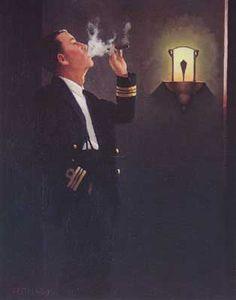 The Cigar DIvan Study  ~Jack Vettriano