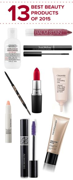 """Obsessed with this list from Buzzfeed, especially loving the red lip stick from MAC. We're also huge fans of filling and shaping brows using """"The Brow Wiz."""""""